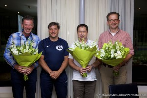 09-07-2015 SPORT; DE JONG ACADEMY SPONSOR AVOND; POSTELSE HOEVE HOTEL; TILBURG . Marco de Jong's voetbal academy, DJA bedankt haar sponsors. Foto Andy Smulders / Persfoto.com